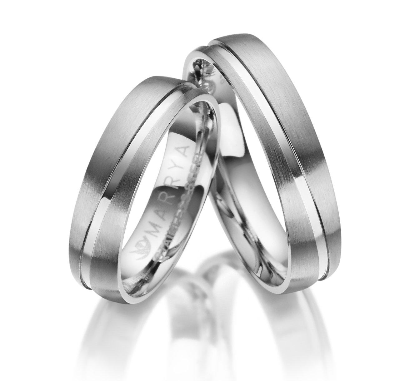 Snubní prsteny z chirurgické oceli ES-20