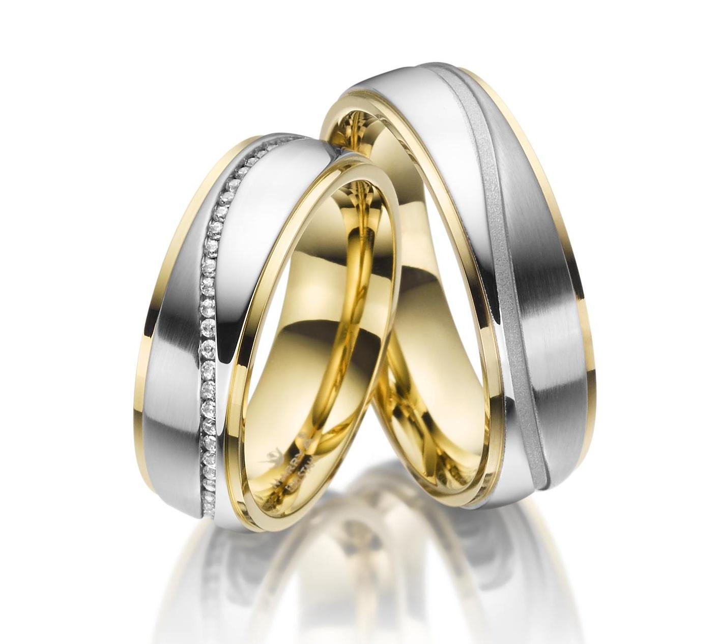 Snubní prsteny z chirurgické oceli ES-22