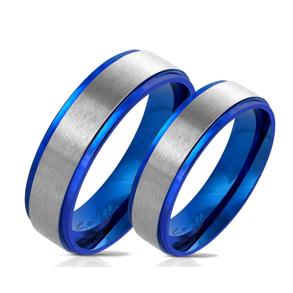 Snubní prsteny z chirurgické oceli R-M6055B