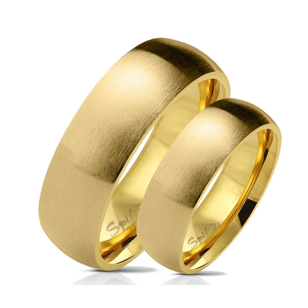 Snubní prsteny z chirurgické ocel R027G