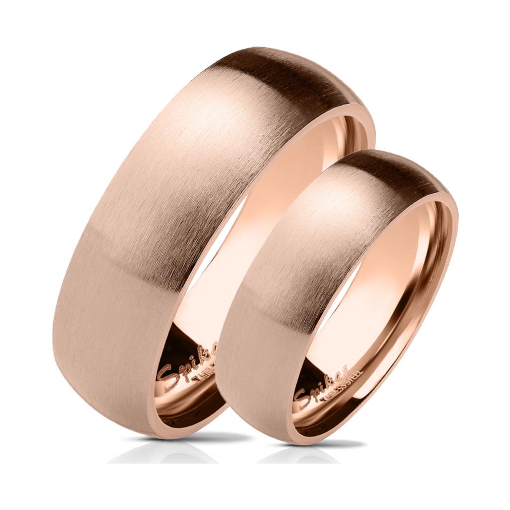 Snubní prsteny z chirurgické ocel R027R