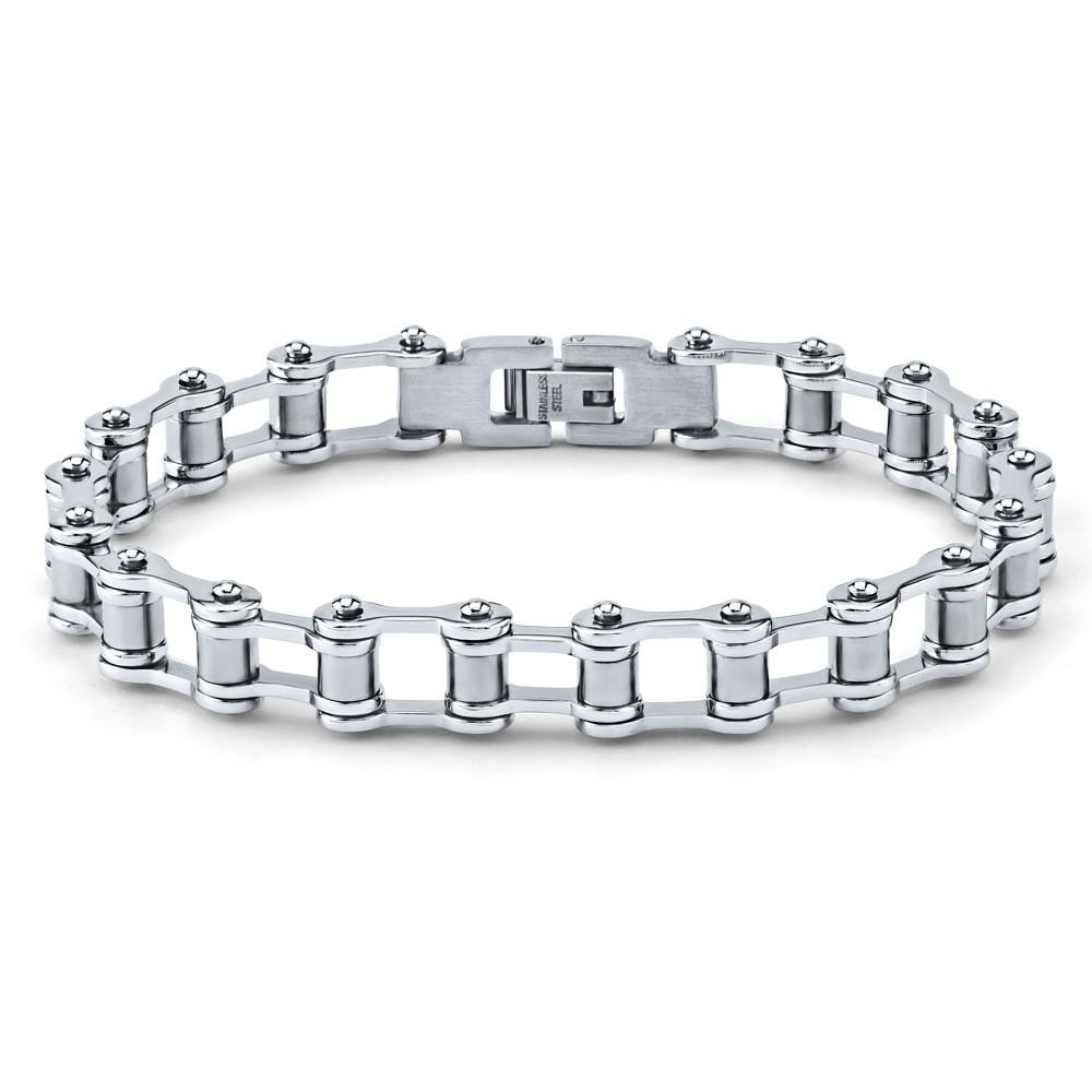 Moderní náramek pro muže z chirurgické oceli-řetěz KMMB22345