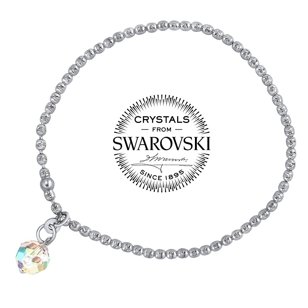 SILVEGO stříbrný náramek se Swarovski® Crystals VSW068b1