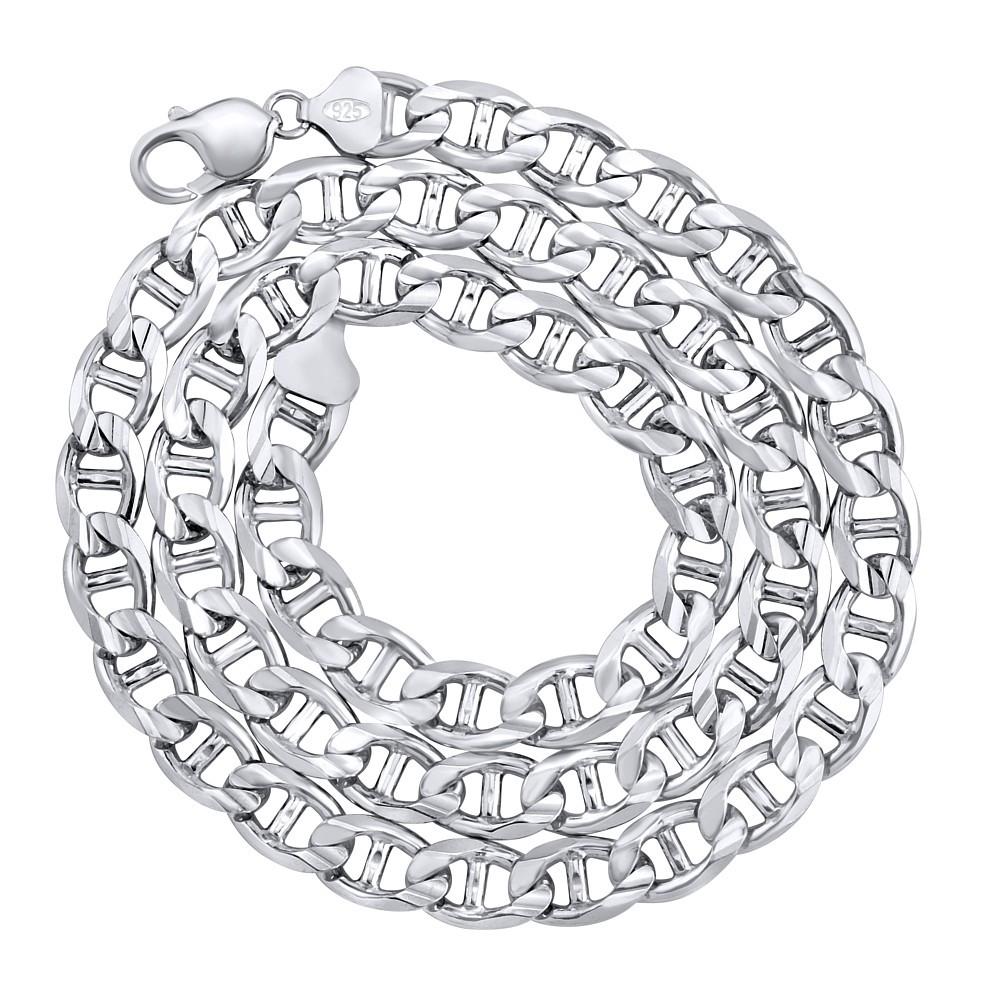 Masivní stříbrný řetěz MARINE 10 mm TTT73A9Z