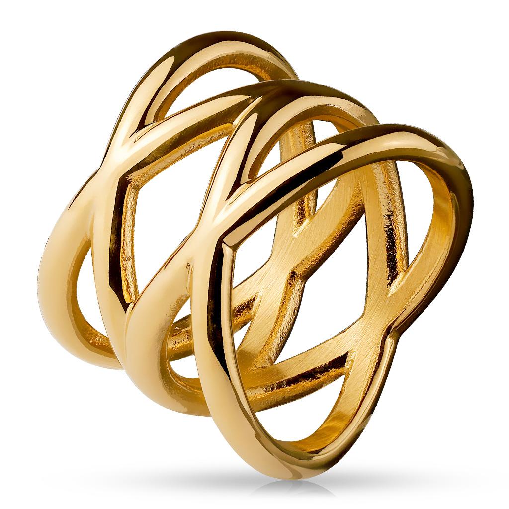 Prsten z chirurgické oceli R026
