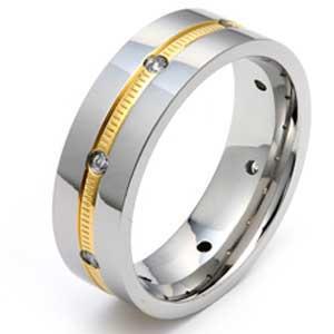 Titanový prsten 43227