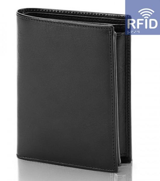 Pánská peněženka Malmo RFID, černá DK-080