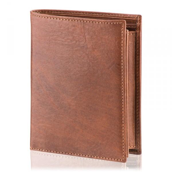 Pánská peněženka Malmo, hnědá DK-084
