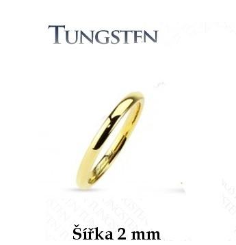 Wolframový prsten R-TU-145-2