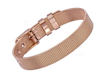 Náramek Tribal BSS349 rose gold