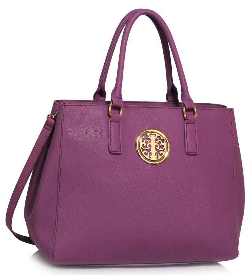 Kabelka LS FASHION LS00349 - Purple