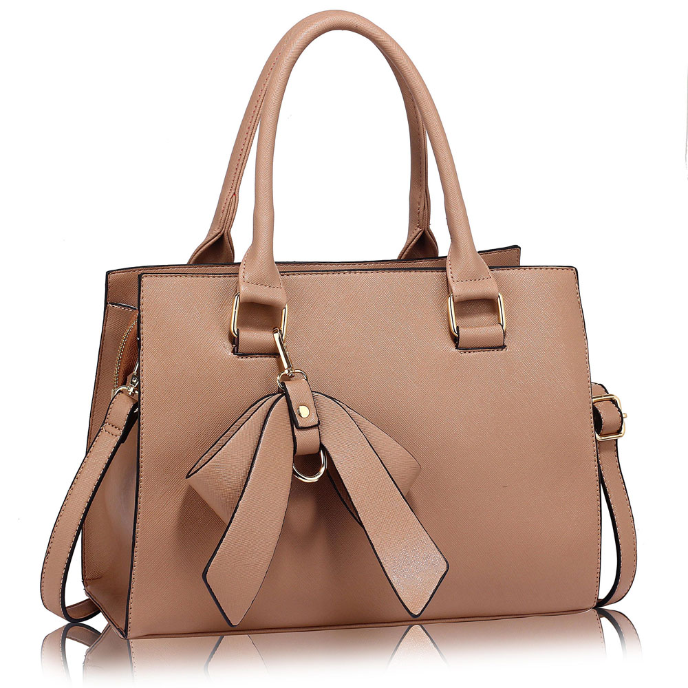 LS dámská kabelka LS00374C - Nude