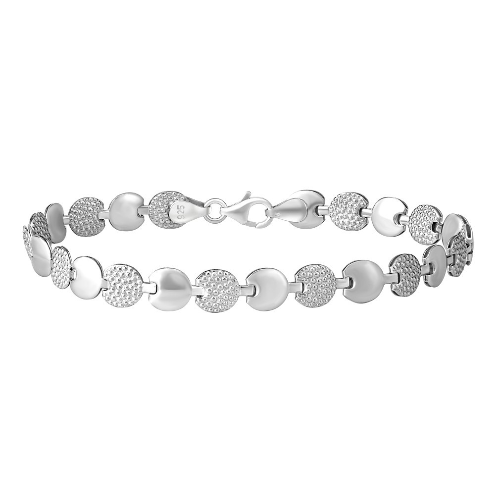 Stříbrný náramek MONNALISA STT-B88