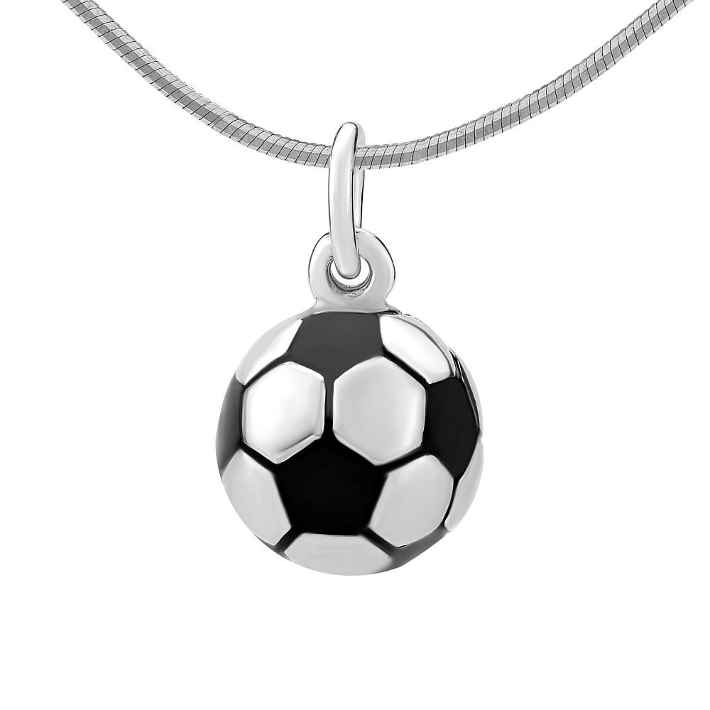 Stříbrný přívěsek fotbalový míč PRMP22626