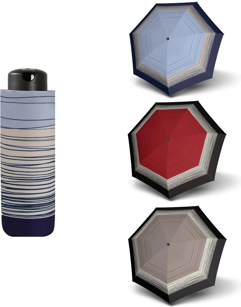 Doppler Mini XS Carbonsteel LINEE - dámský skládací deštník