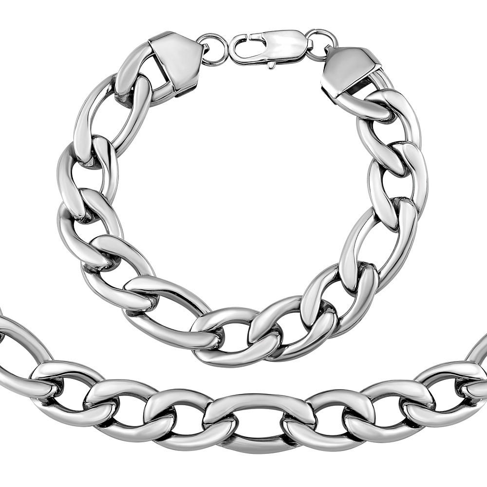 Masivní set náramku a náhrdelníku PANCR 13 mm KMM89441