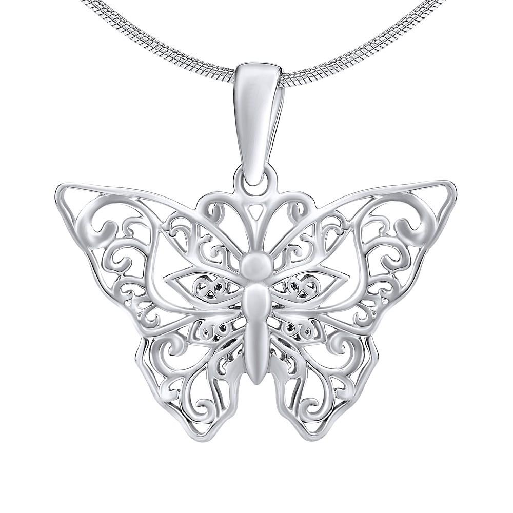 Stříbrný přívěsek motýlek ZT61331
