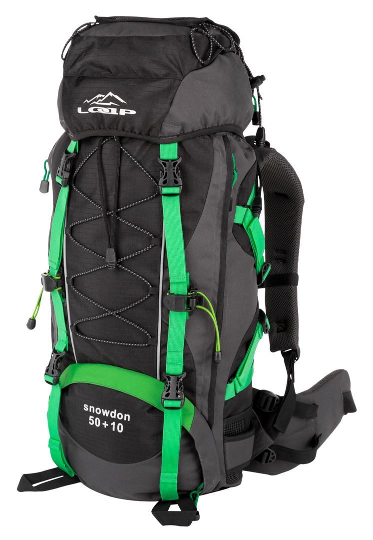 e0adf0e197 SNOWDON 50+10 turistický batoh zelená