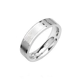 Prsten z chirurgické oceli R8008 (Prsten z chirurgické oceli R8008)