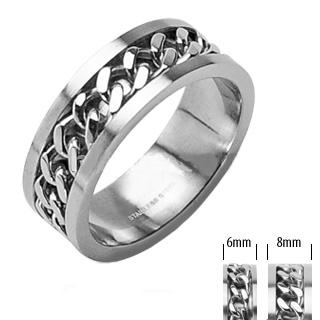 Snubní prsteny z chirurgické oceli R-H0260 (Snubní prsteny z chirurgické oceli R-H0260)
