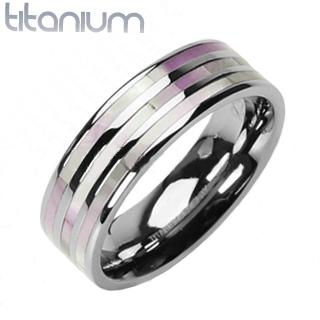 Titanový prsten R-TI-0573 (Titanový prsten R-TI-0573)