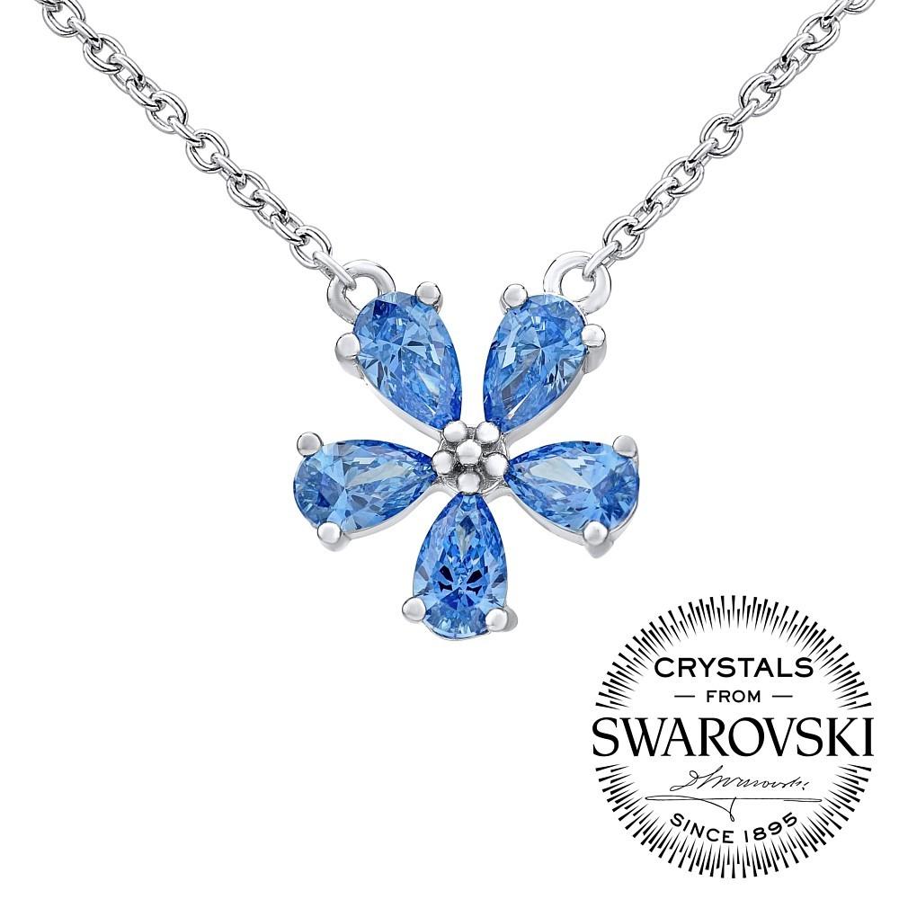 b4213c36c SILVEGO stříbrný náhrdelník ALEXANDRIA se Swarovski® Zirconia