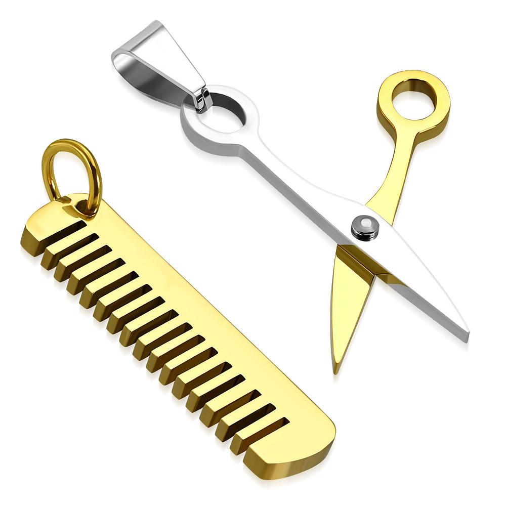 Přívěsek pro dva nůžky a hřeben BPC507