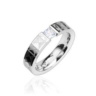 Prsten z chirurgické oceli R8009 (Prsten z chirurgické oceli R8009)