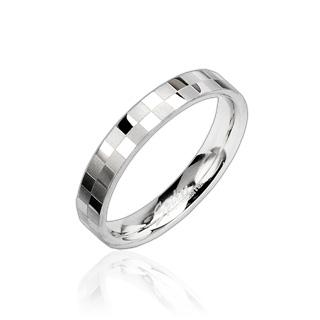 Prsten z chirurgické oceli R8002 (Prsten z chirurgické oceli R8002)
