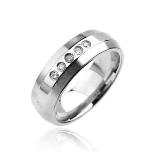 Prsten z chirurgické oceli R6960 (Prsten z chirurgické oceli R6960)