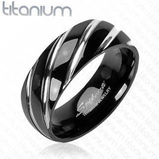 Titanový prsten 3558M (Titanový prsten 3558M)