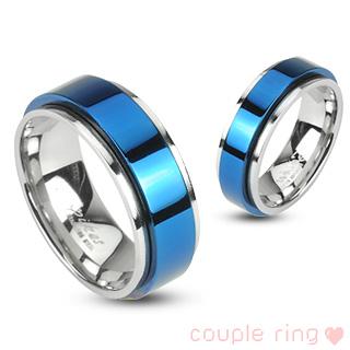 Snubní prsteny z chirurgické oceli-R-H1657 (Snubní prsteny z chirurgické oceli-R-H1657)