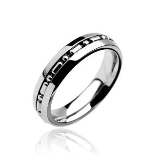 Prsten z chirurgické oceli R7061 (Prsten z chirurgické oceli R7061)
