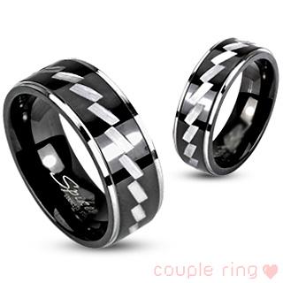 Snubní prsteny z chirurgické oceli-R-H1652M (Snubní prsteny z chirurgické oceli-R-H1652M)