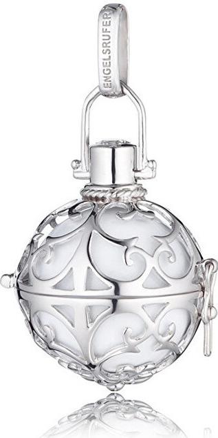 Andělský zvonek s bílou rolničkou ER-01-M
