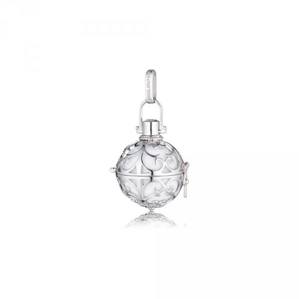 Andělský zvonek s bílou rolničkou ER-01-S