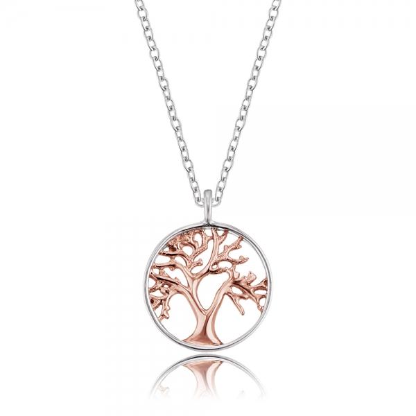 Engelsrufer Stříbrný náhrdelník ERN-LILTREE-BI