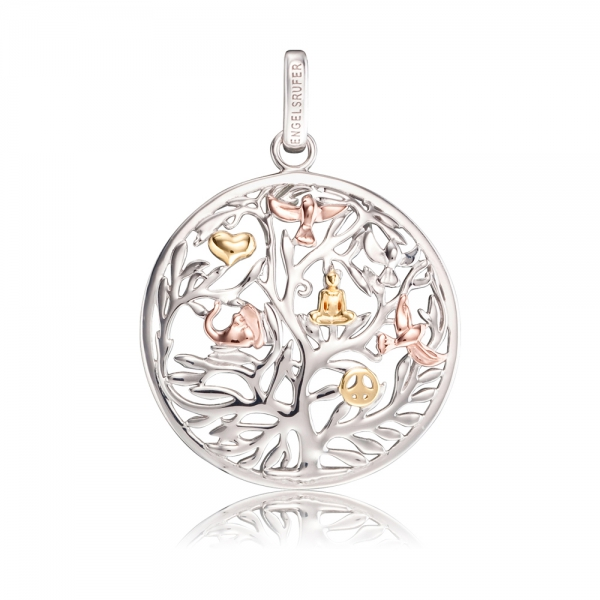 Přívěsek ENGELSRUFER Strom života tricolor