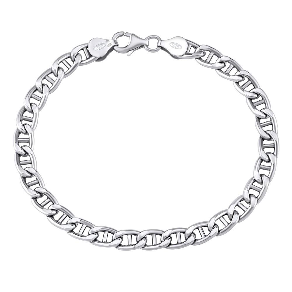 Stříbrný náramek MARINE 6 MM