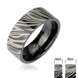 Snubní prsteny z chirurgické oceli R-M1518 (Snubní prsteny z chirurgické oceli R-M1518)