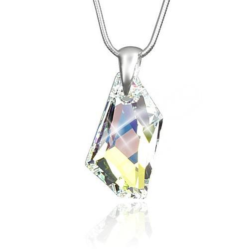 Stříbrný přívěsek De-Art Crystal AB se SWAROVSKI ELEMENTS LSW107P