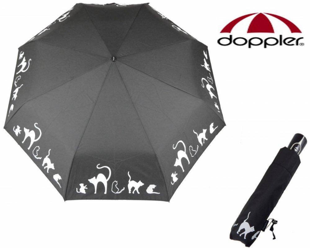 Fiber Magic Cats Family - dámský plně automatický deštník
