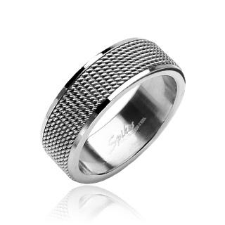 Prsten z chirurgické oceli R8004 (Prsten z chirurgické oceli R8004)