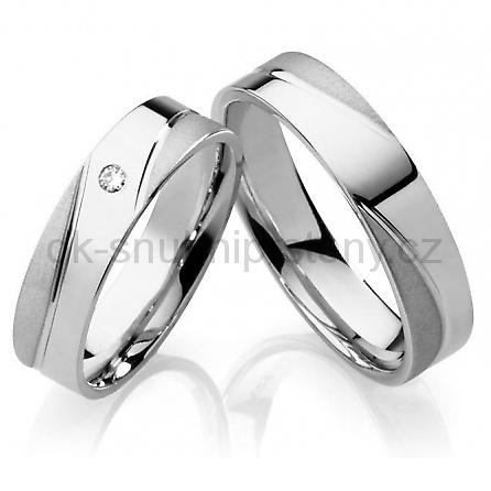 6aabb7885 Snubní prsteny chirurgická ocel OC1013