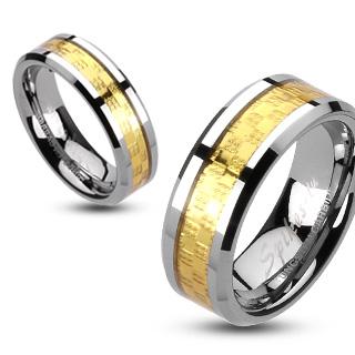 Wolframové snubní prsteny R-TUF-325 (Wolframové snubní prsteny R-TUF-325)