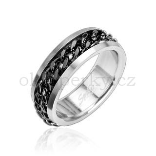 Prsten z chirurgické oceli R8011 (Prsten z chirurgické oceli R8011)