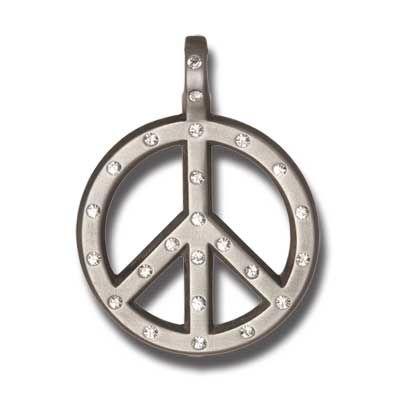 Přívěsek PEACE CRYSTAL CR62