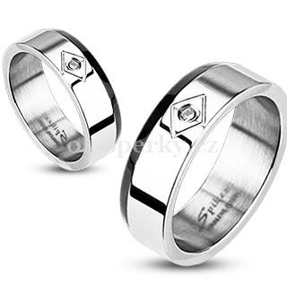 Snubní prsteny z chirurgické oceli R-M1007 (Snubní prsteny z chirurgické oceli R-M1007)