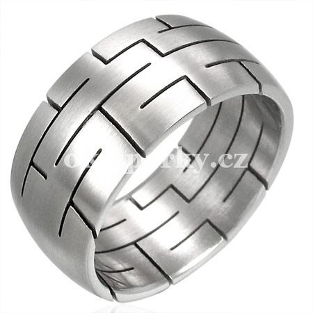 Prsten z chirurgické oceli RHB017 (Prsten z chirurgické oceli RHB017)