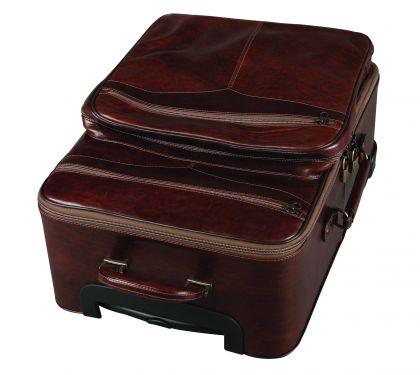 Palubní kufr Brisbane, hnědý